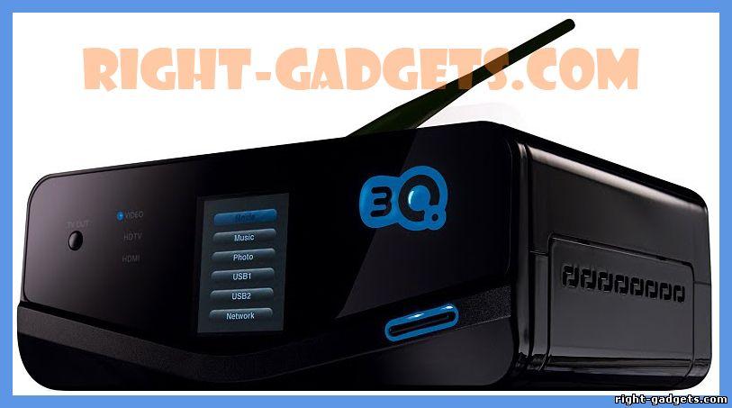 Обзор плеера 3Q Q-box_F340HW-500Gb