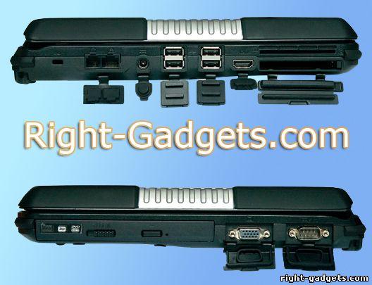 Desten CyberBook-S864-800 - разъемы