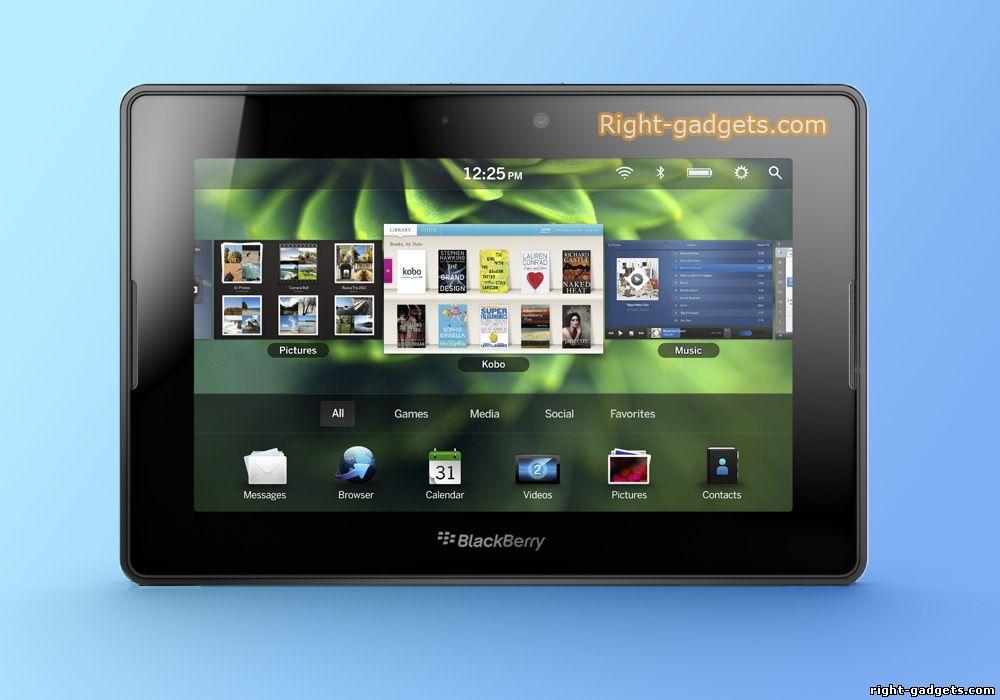 Планшетный пк PlayBook - вид спереди