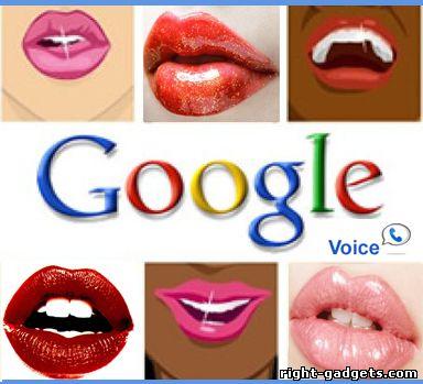 Обложка службы google voice