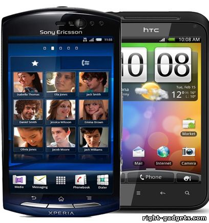 Тестирование смартфонов за Октябрь 2011